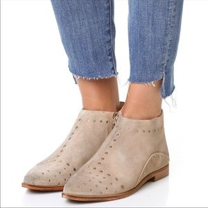 NWT Free People Ankle Boots Studded Booties Size 7